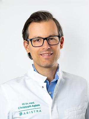 PD Dr. med. Christoph Agten, radiology specialist for the musculoskeletal system